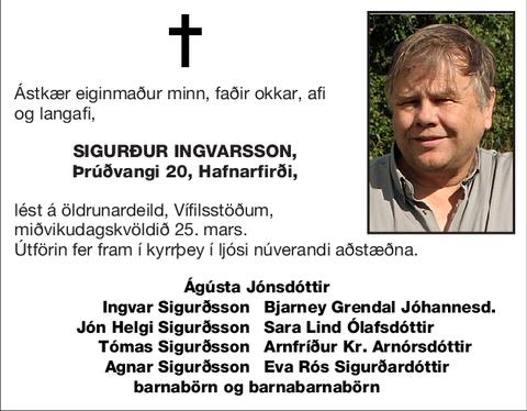 Sigurður Ingvarsson,