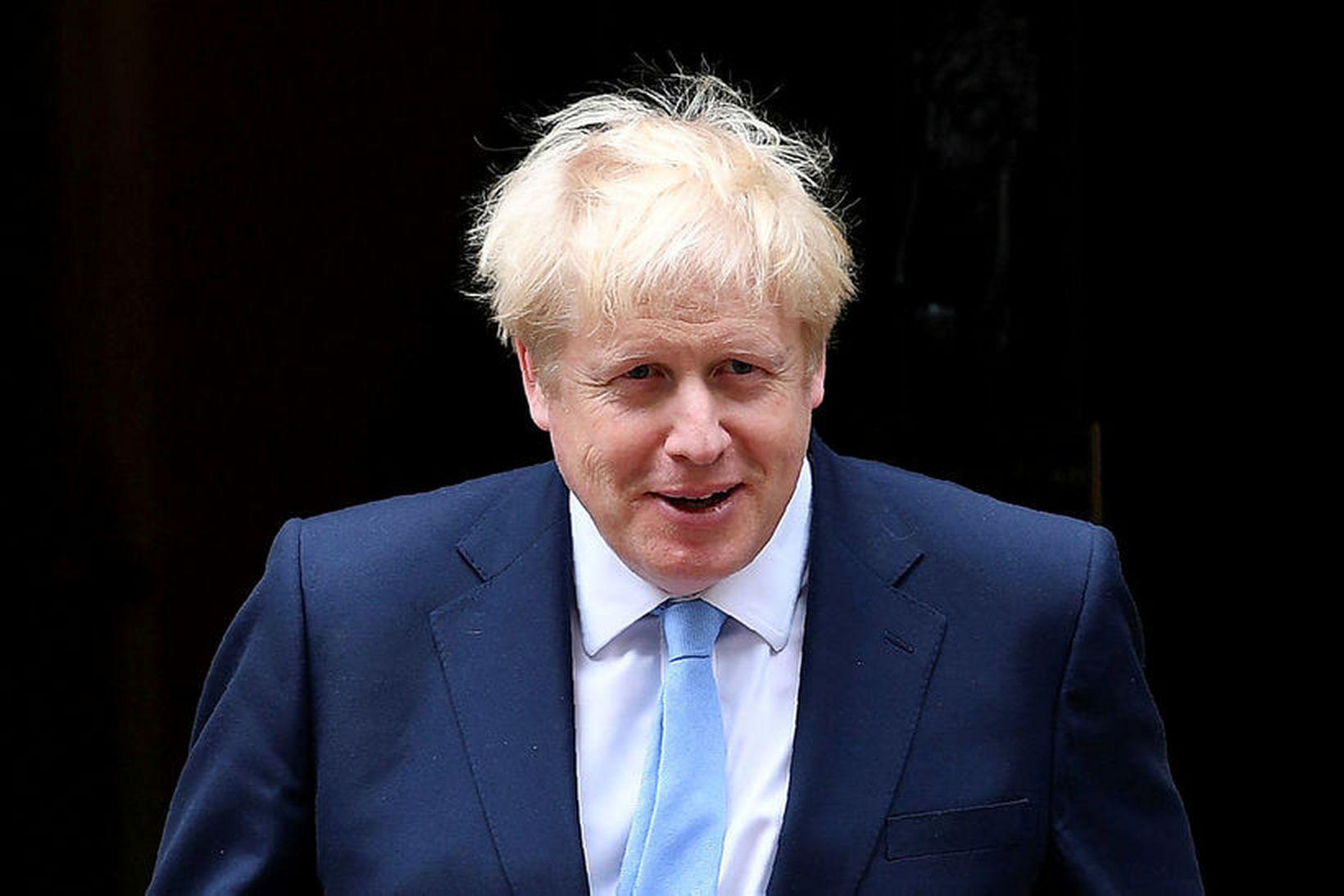 Boris Johnson, forsætisráðherra Bretlands, virðist hafa meirihluta bresks almennings á …