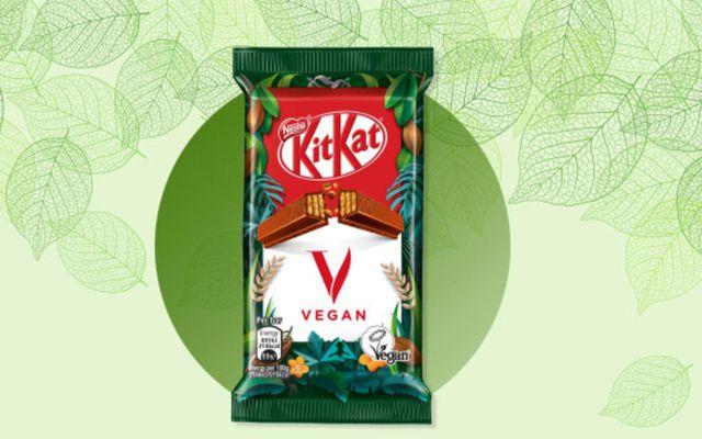 Nýtt vegan KitKat er væntanlegt.