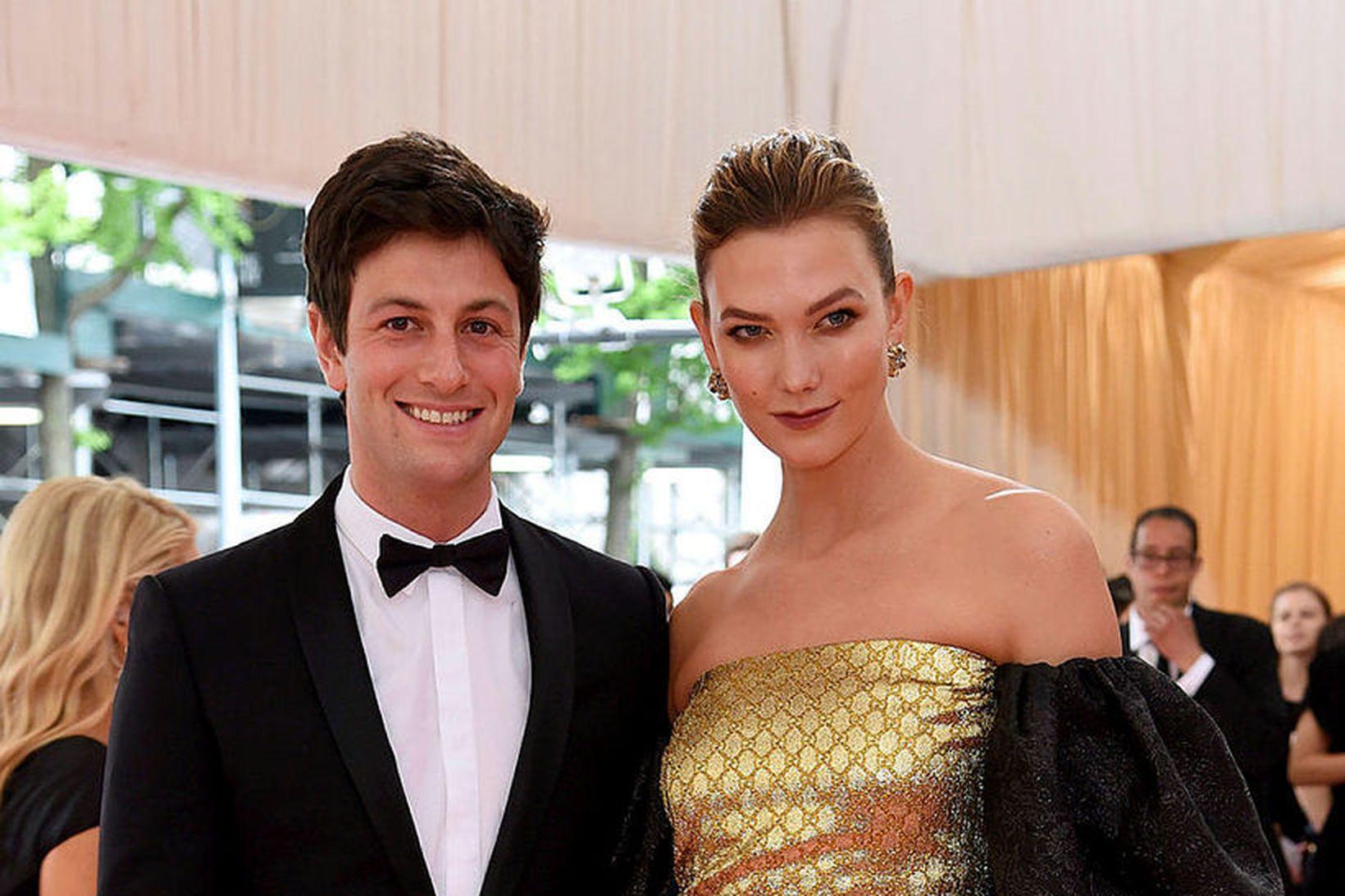 Joshua Kushner og Karlie Kloss.