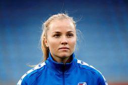 Glódís Perla Viggósdóttir skrifaði undir þriggja ára samning við Bayern München.