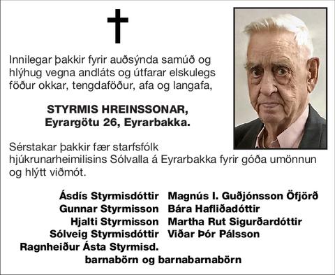 Styrmis Hreinssonar,