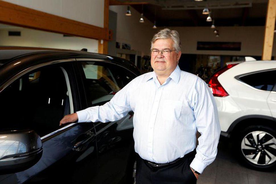 Geir Gunnarsson forstjóri Bernhard, sem einnig rekur bílaleiguna IceRentalCars.