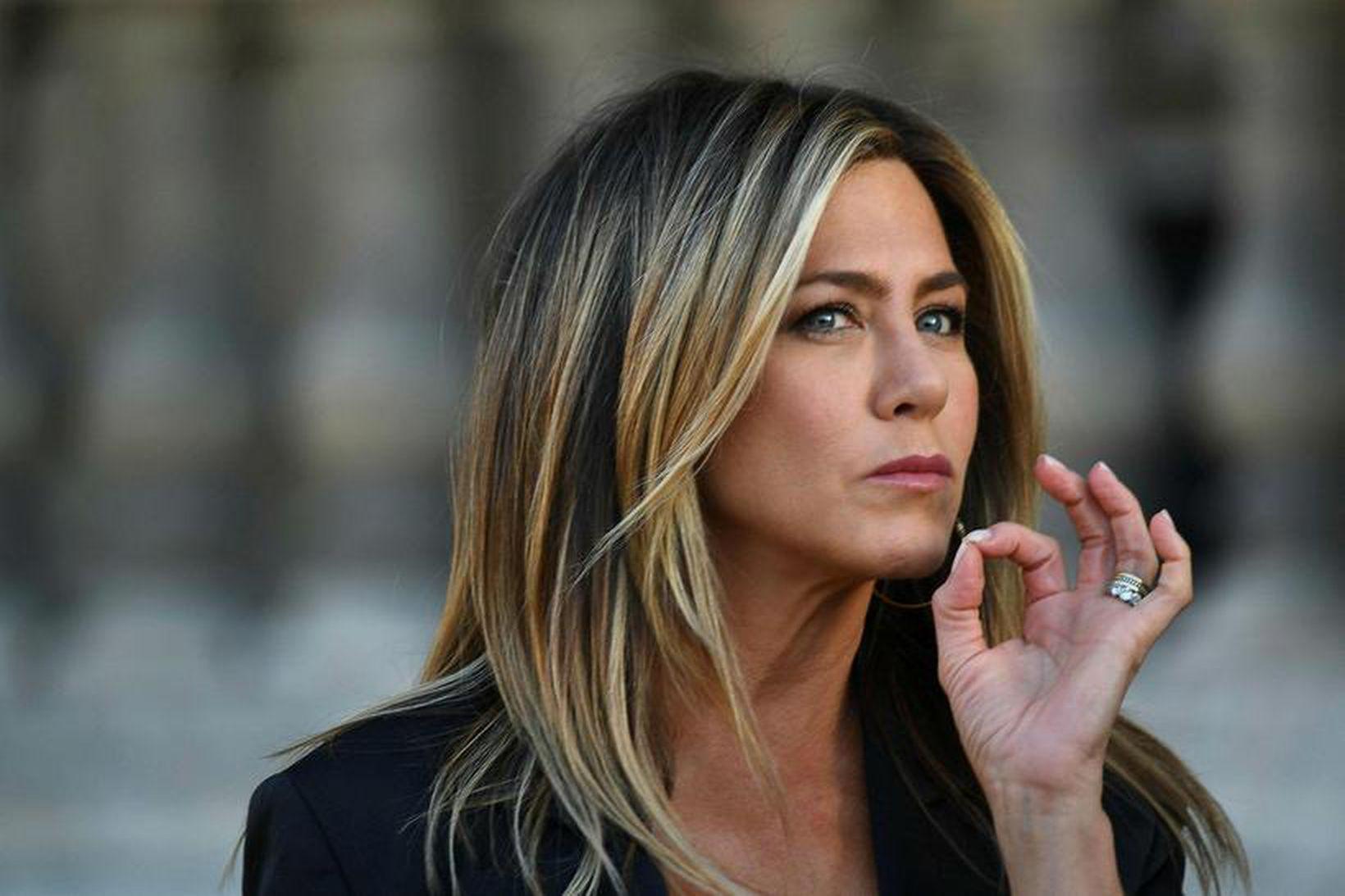 Jennifer Aniston er talskona þess að vinna í sér. Gremja …