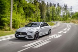Mercedes-Benz E 63 hefur fengið nýtt útlit.