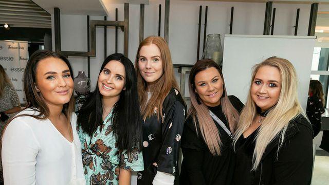 Gyða Dröfn, Þórunn Ívars, Alexsandra Bernhar, Silla og Sara.