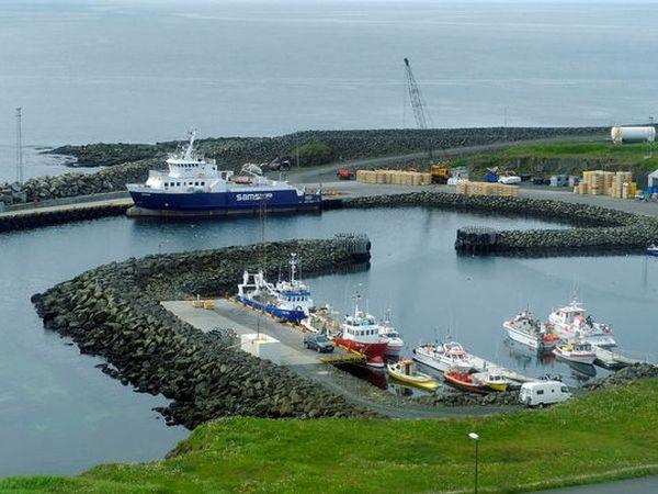 From Grímsey island.