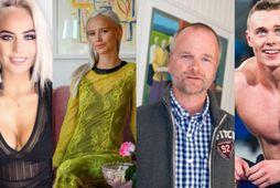 Sunneva Einars, Dóra Júlía, Árni Hauksson og Björgvin Karl eru öll búin að finna ástina.