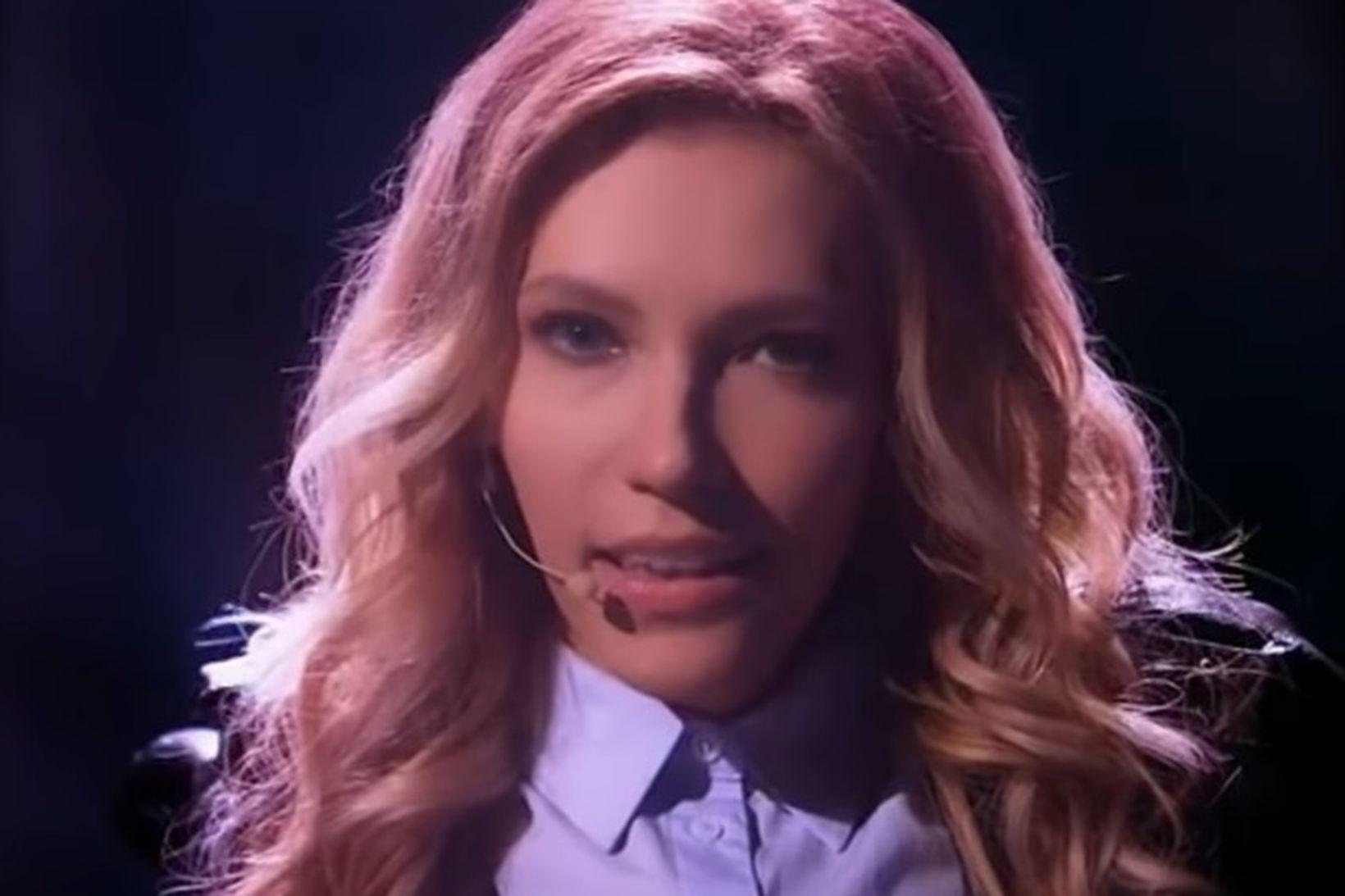 Samoilova fær ekki að taka þátt í Eurovision.