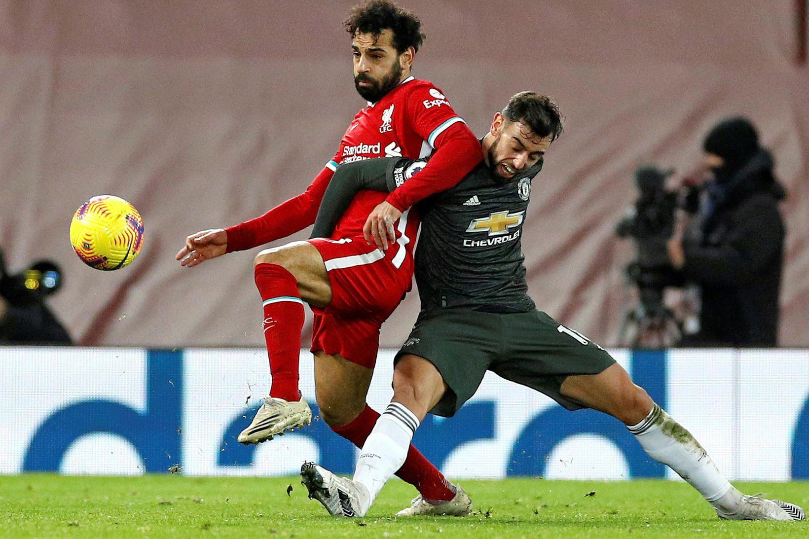 Það er rúmur mánuður síðan Mohamed Salah skoraði síðast fyrir …