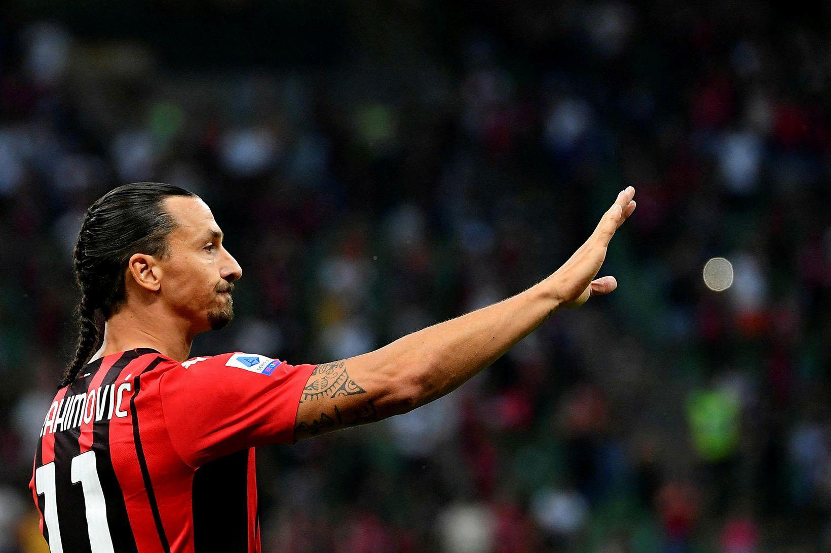 Zlatan Ibrahimovic verður ekki með AC Milan í stórleiknum gegn …
