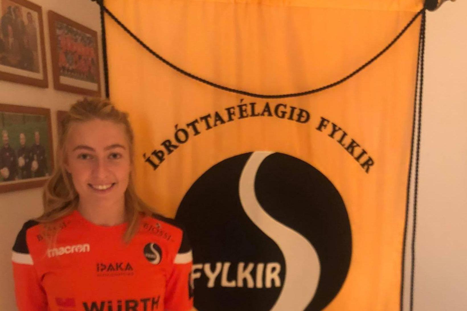 Sæunn Björnsdóttir leikur með Fylki á komandi keppnistímabili.