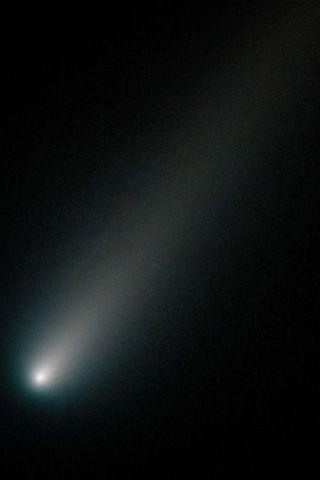 Þessi mynd af ISON var tekin af Hubble sjónaukanum 17. ...
