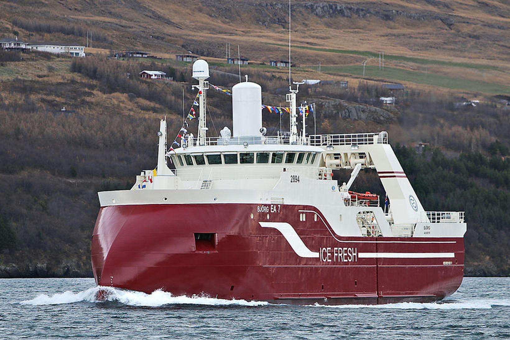Björg kom með 9.443 tonn að landi árið 2020. Verðmæti …