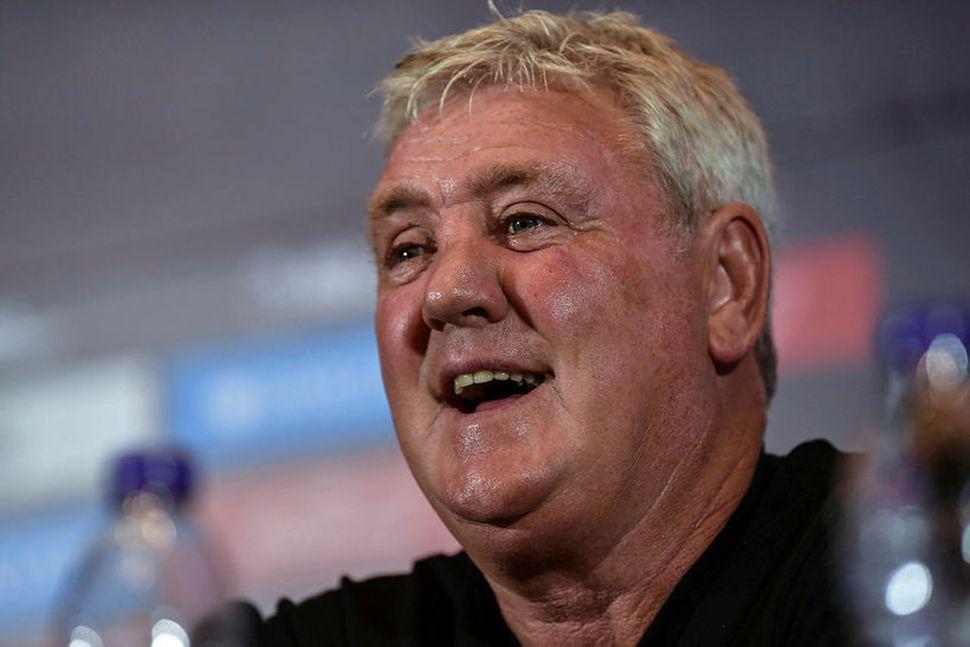 Steve Bruce, nýr stjóri Newcastle.