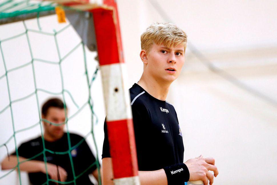 Viktor Gísli Hallgrímsson.