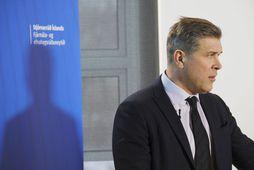 Bjarni Benediktsson kynnir fjármálaáætlunina.