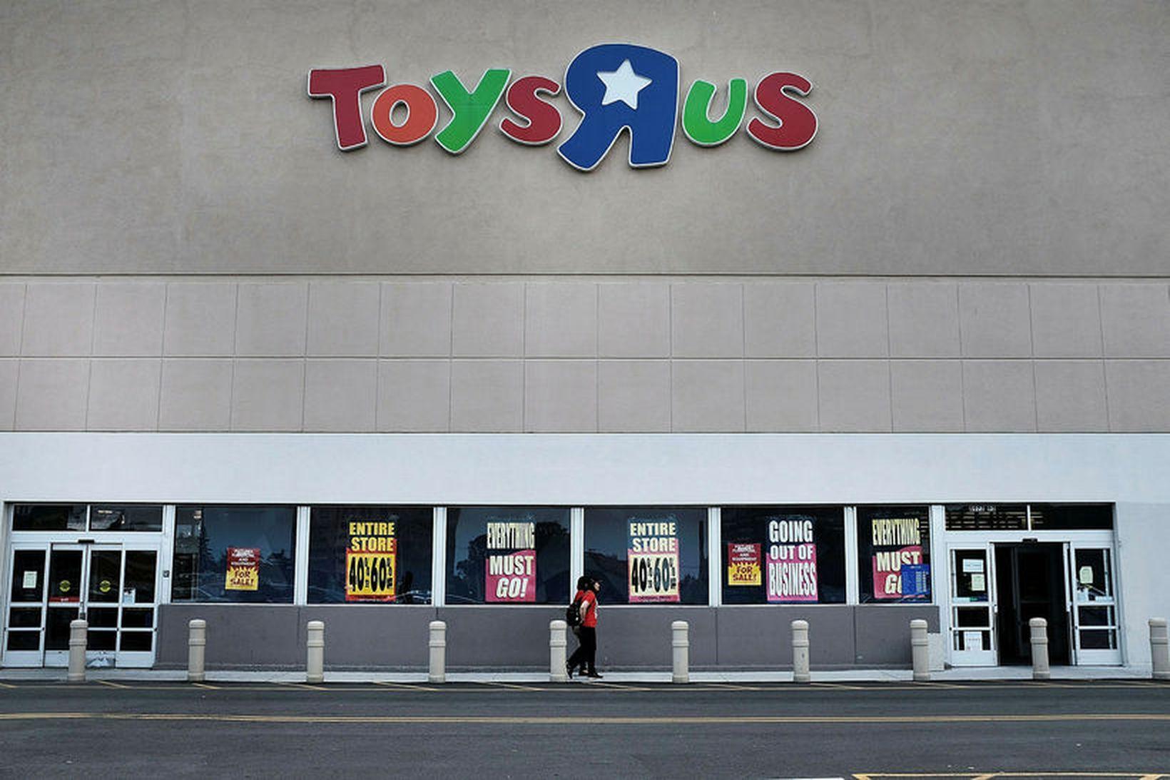 Verslun Toys 'R' Us í New York.