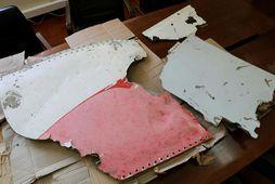 Mögulegt brak úr MH370.