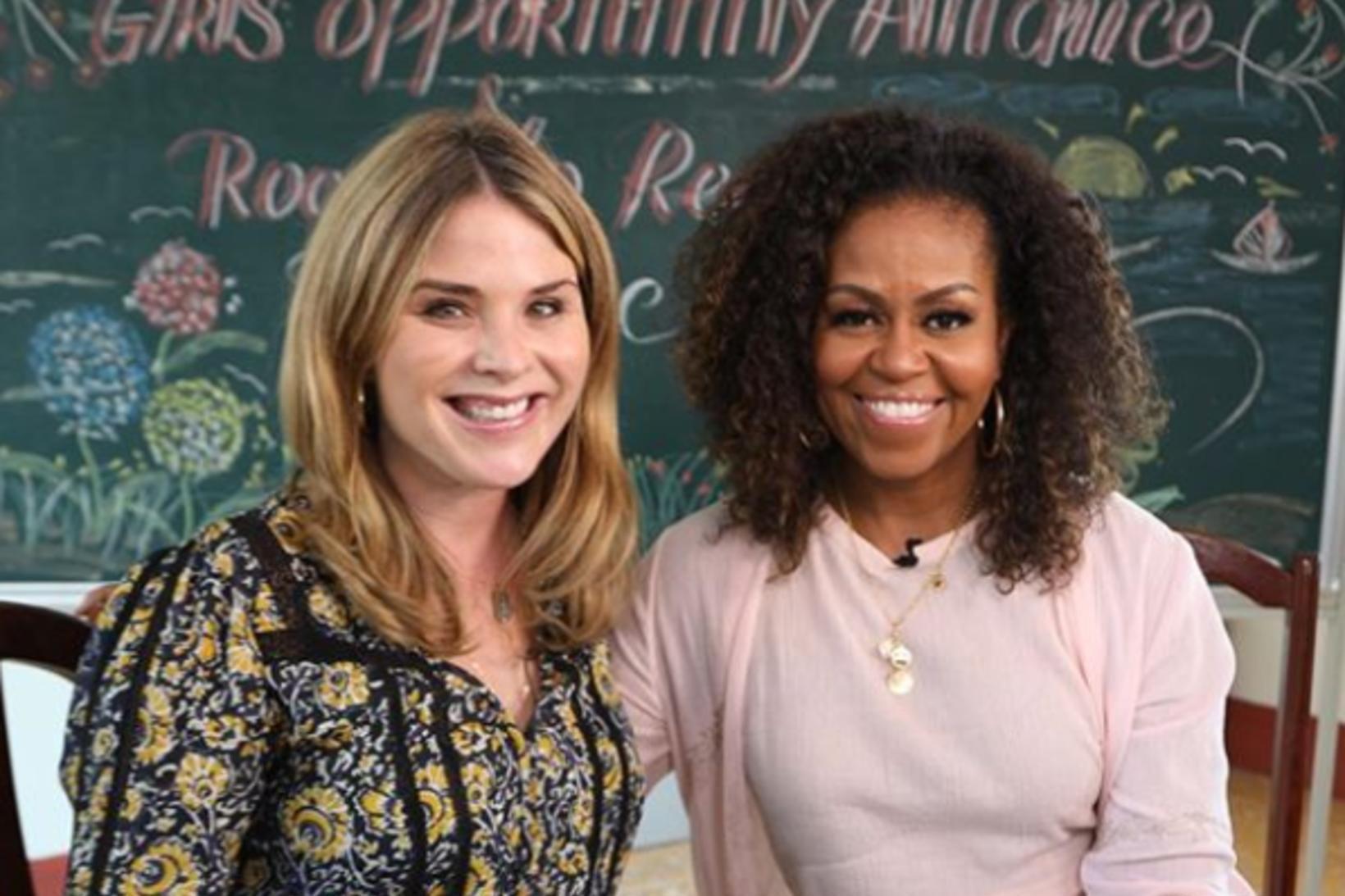 Jenna Bush Hager og Michelle Obama segja báðar að Wilson …
