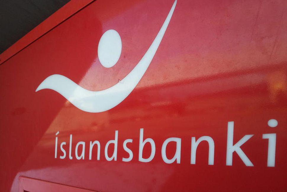 Íslandsbanki.