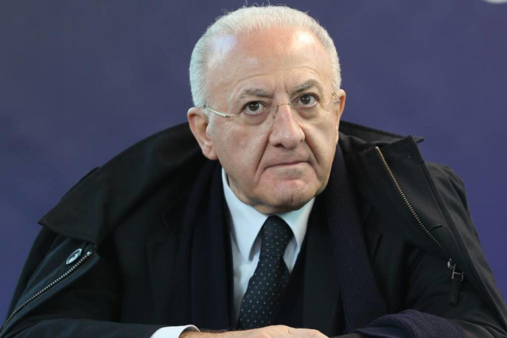 Vincenzo De Luca, forseti Kampaníuhéraðs.