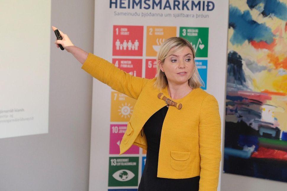 Lilja Alfreðsdóttir menntamálaráðherra mun taka til máls á opnum kynningarfundi ...