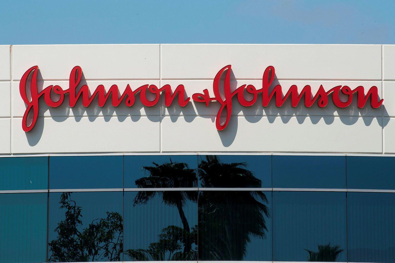 Johnson & Johnson er eitt fyrirtækjanna í bóluefnakapphlaupinu.