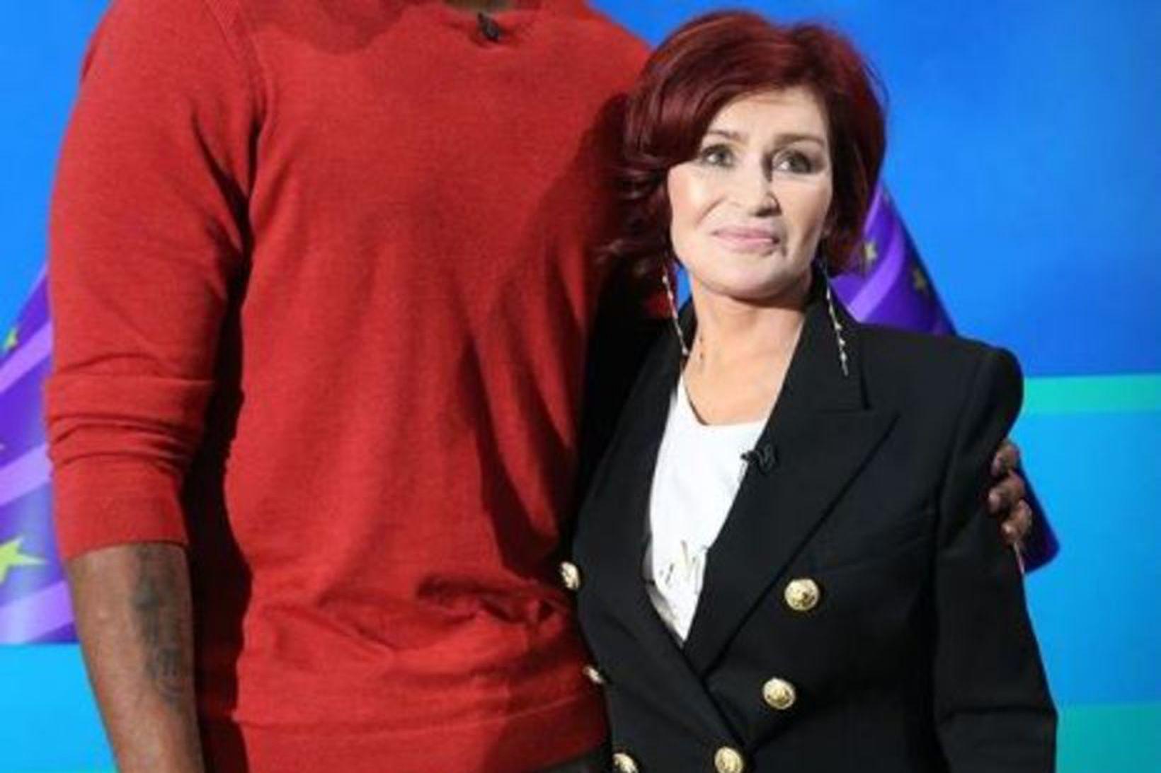 Sharon Osbourne birti mynd á Instagram af nýja andlitinu. Með …