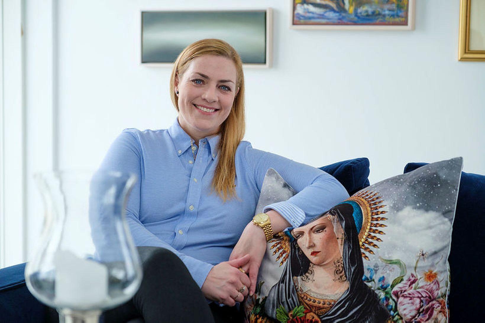Erna Geirlaug Árnadóttir innanhússarkitekt.