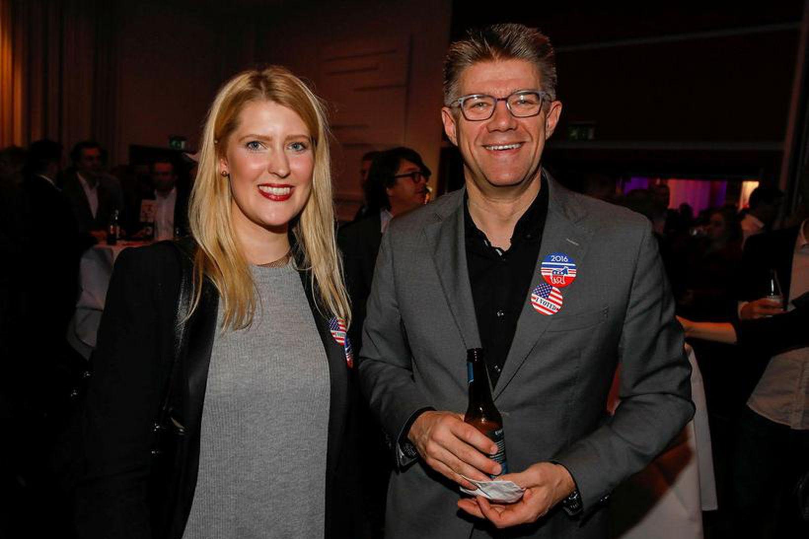 Sunna Gunnarsdóttir og Gunnar Bragi Sveinsson.