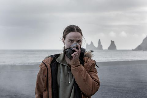 Guðrún Ýr Eyfjörð Jóhannesdóttir í Kötlu.