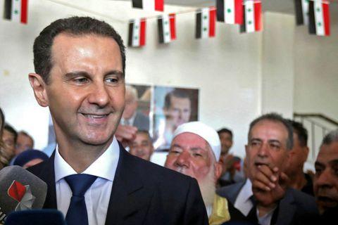 Bashar al-Assad mætir á kjörstað á miðvikudag.
