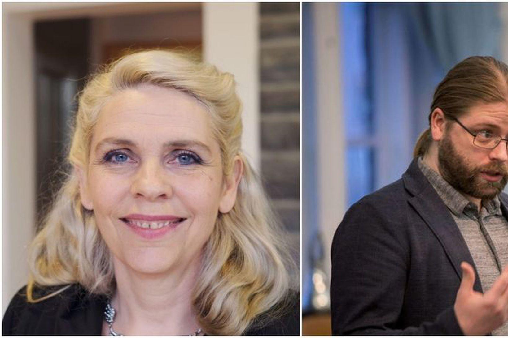 Helgi Hrafn Gunnarsson, þingmaður Pírata, greiddi atkvæði gegn setu Birgittu …