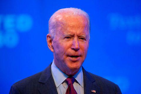 Joe Biden, forsetaefni demókrata í Bandaríkjunum.
