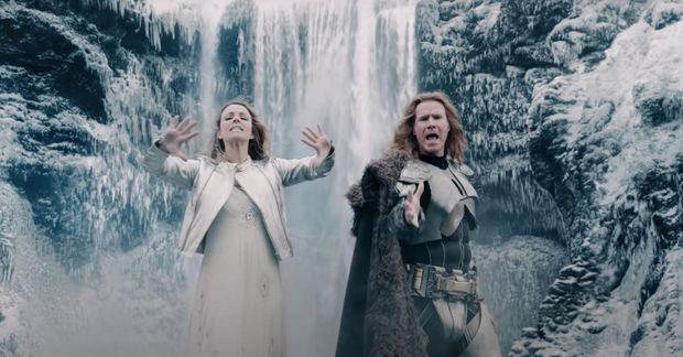 Eurovisionmynd Wills Ferrells var frumsýnd 26. júní en lagið Husavik - My Hometown úr myndinni …