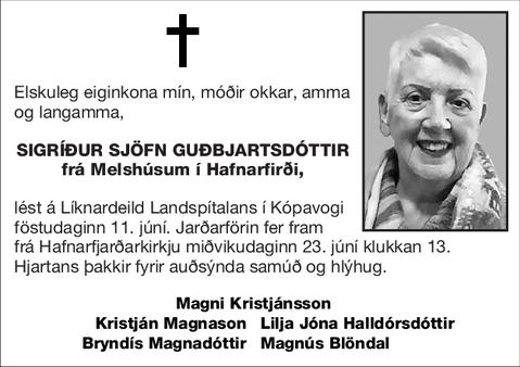 Sigríður Sjöfn Guðbjartsdóttir