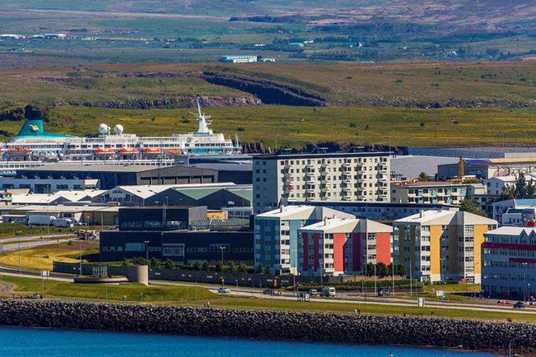 The Laugarnes district of Reykjavik.