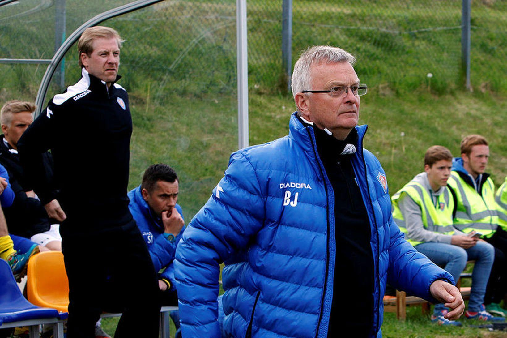 Bjarni Jóhannsson er þjálfari Vestra.