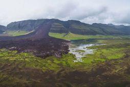 Skriðan er talin ein sú stærsta á sögulegum tíma á Íslandi.