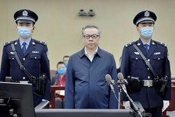 Lai Xiaomin fyrir rétti í dag.
