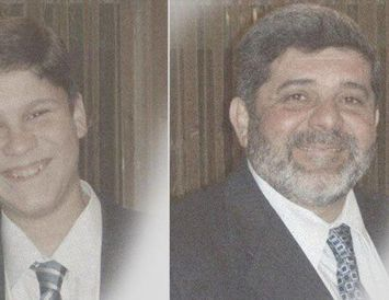 Patrick og Mazen Dabbagh.