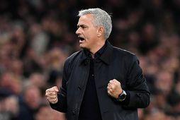 José Mourinho er klár í slaginn á Old Trafford í kvöld.