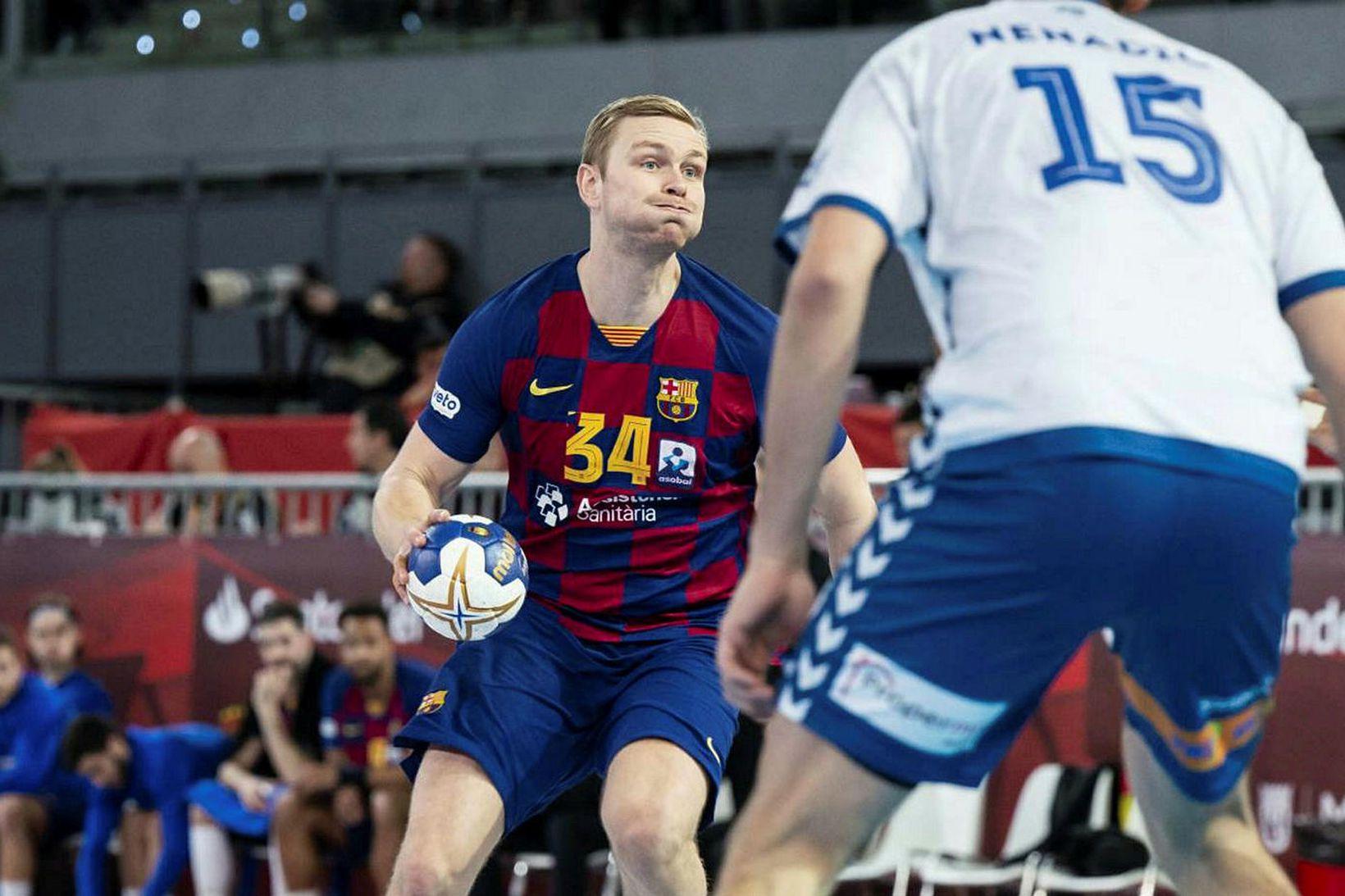 Aron Pálmarsson er að gera magnaða hluti með Barcelona.