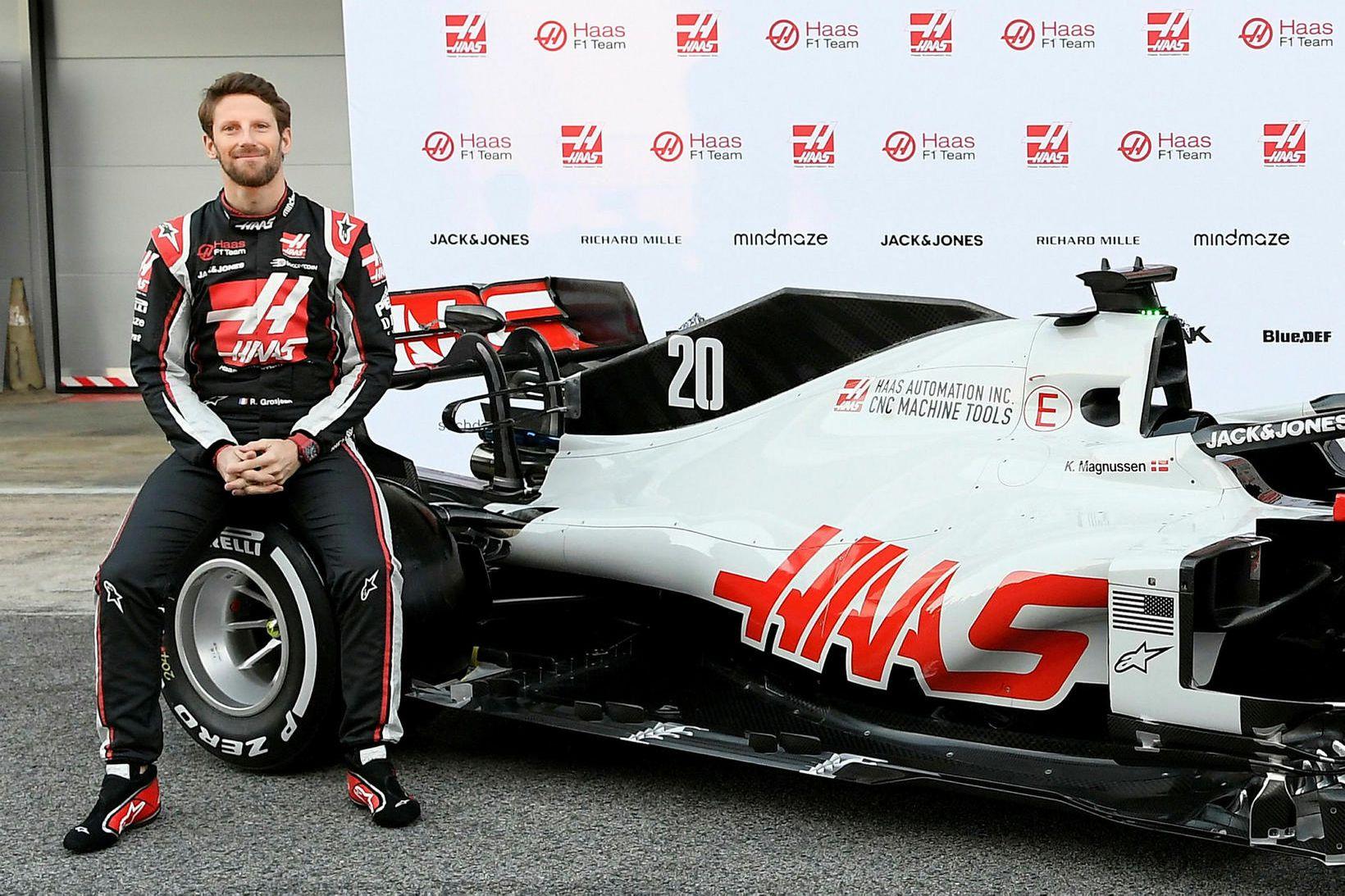 Romain Grosjean tekur á sig kjaraskerðingu vegna kórónuveirunnar sem sett …