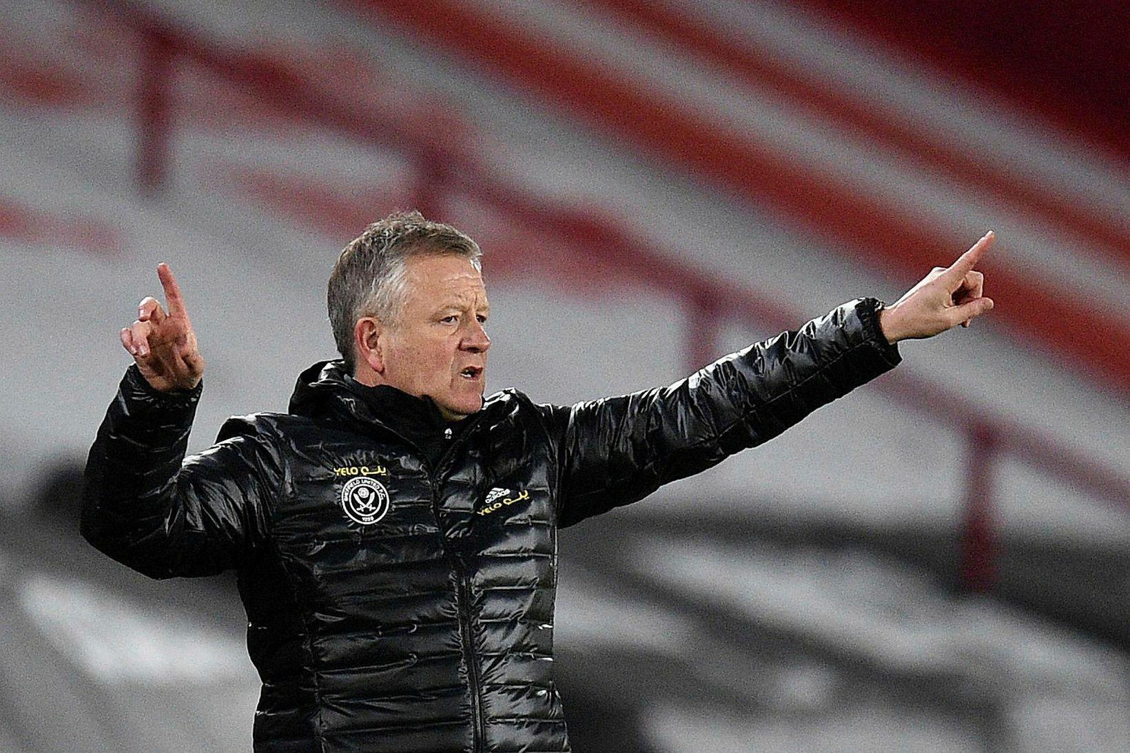 Chris Wilder gæti yfirgefið Sheffield United.