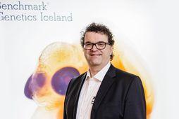 Jónas Jónasson, framkvæmdastjóri Benchmark Genetics Iceland, segir það skipta viðskiptavini miklu máli að laxastofn fyrirtæksins …