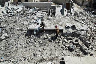Frá Idlib.