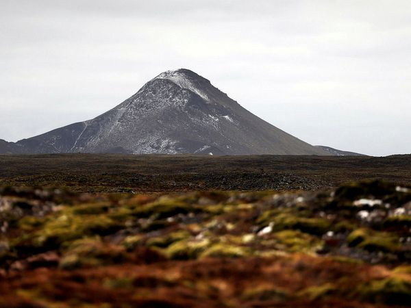 Keilir mountain.