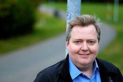 Sigmundur Davíð Gunnlaugsson, stofnandi Miðflokksins.